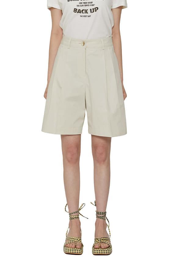 Higher cotton shorts