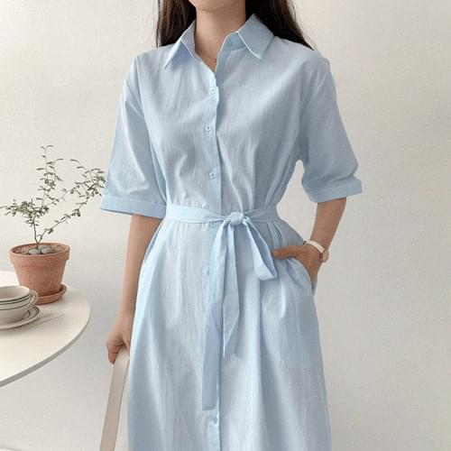 Lesse shirt long Dress