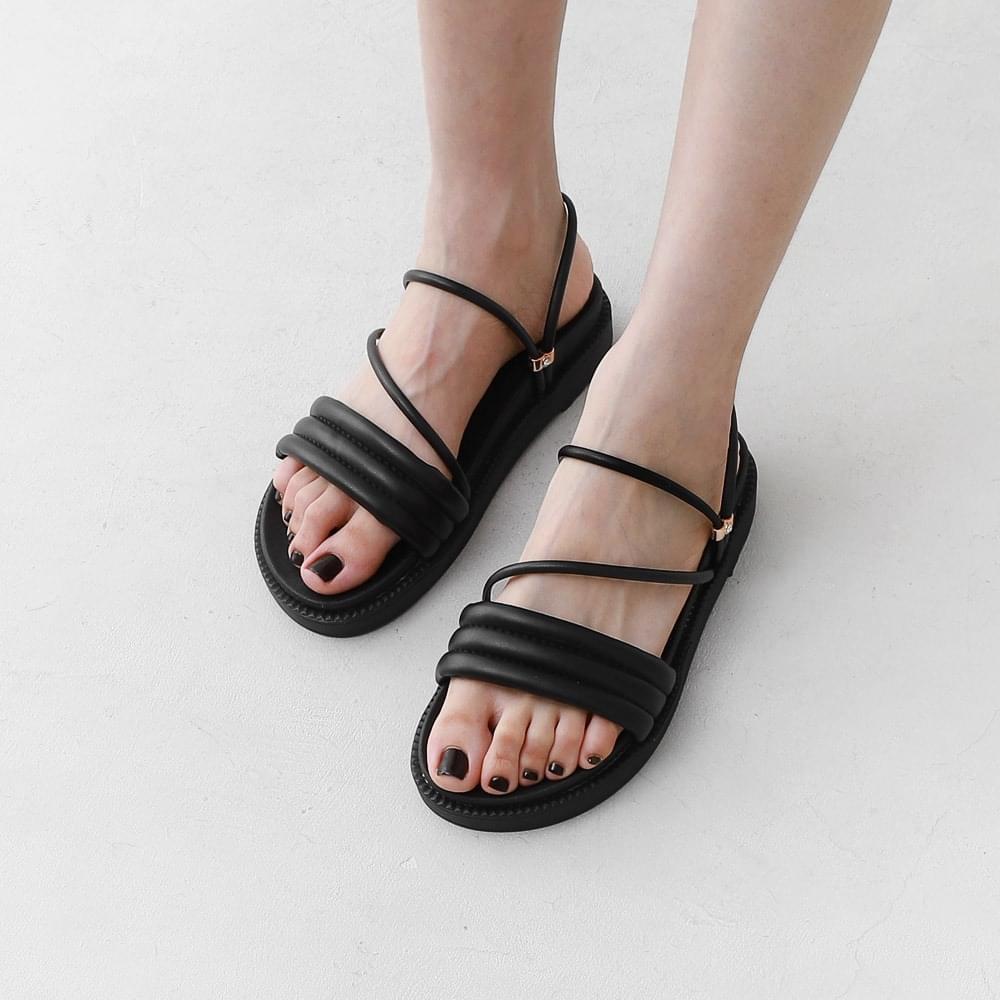 2Way Volume Strap Full Heel Slippers & Sandals 10972
