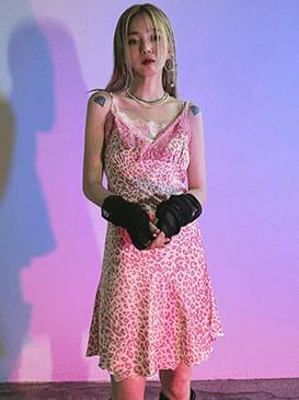 Leopard frank mini Dress