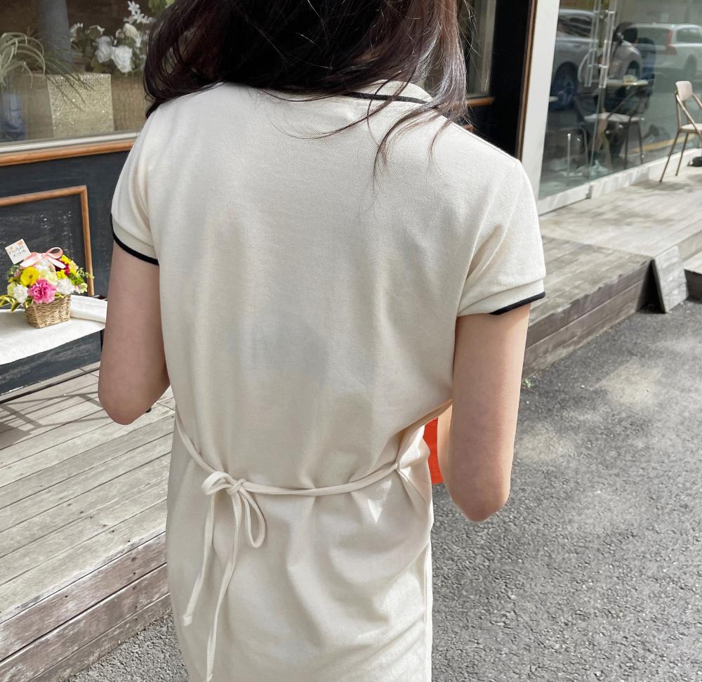 Sally Color Strap PK Dress