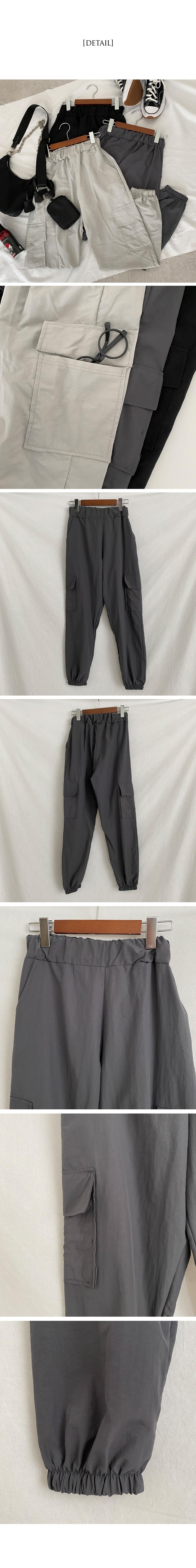 Cooling bustlock pocket jogger trousers
