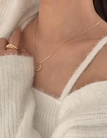 Tods ring necklace