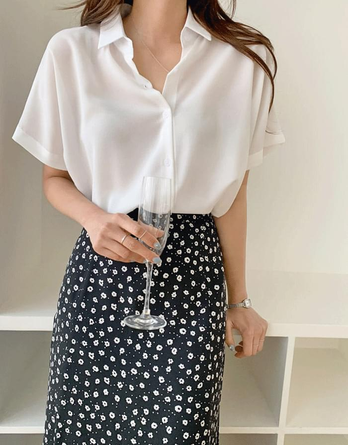 Roy short-sleeved shirt blouse