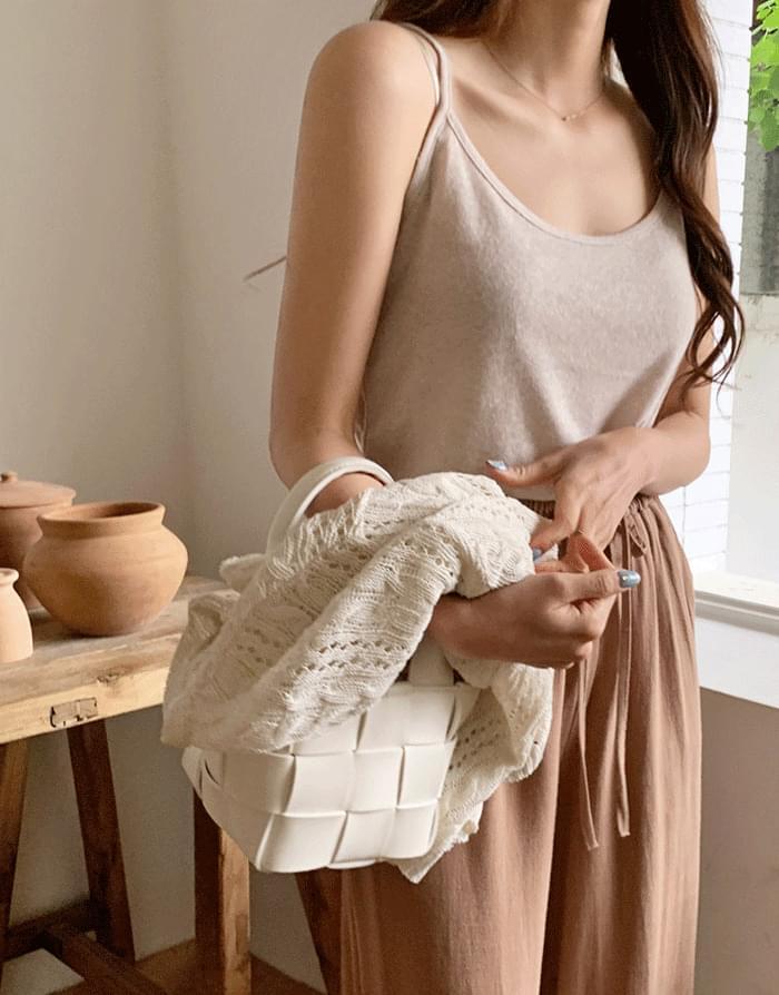 Slavic linen sleeveless T-shirt