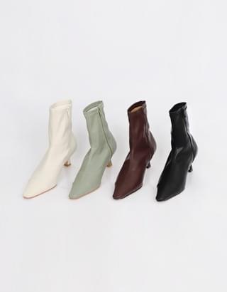 sale) Sonic Color Ankle Boots