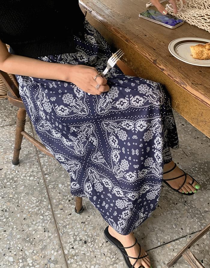 Bali Paisley Skirt