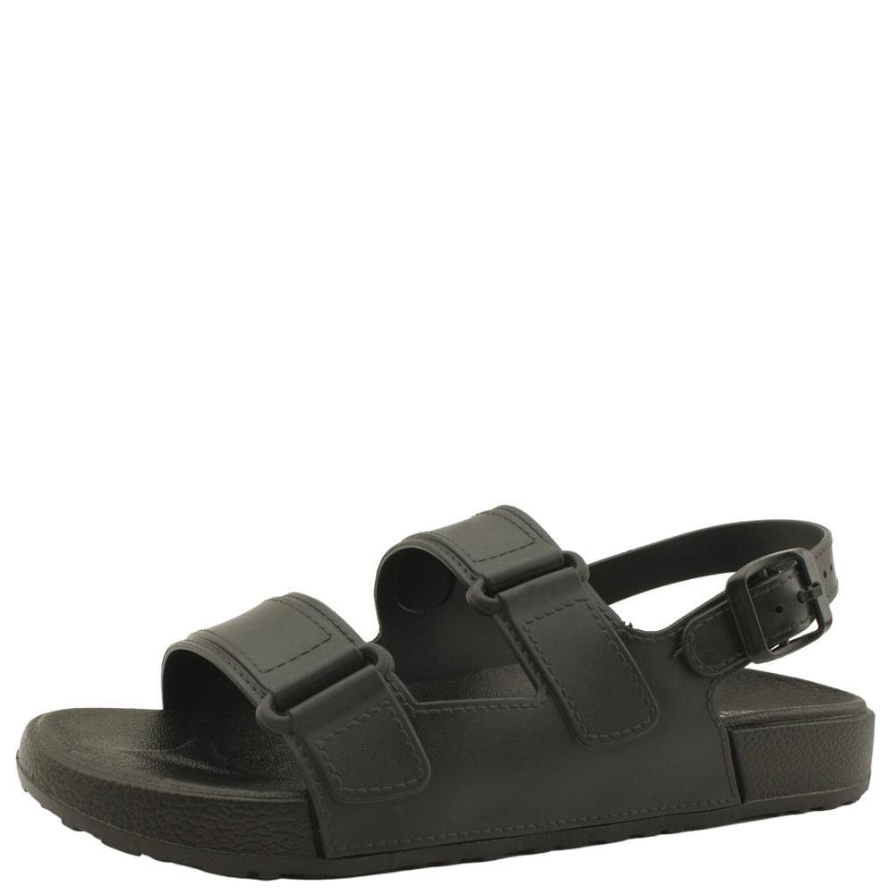Fluffy Jelly Flat Sandals Black 涼鞋