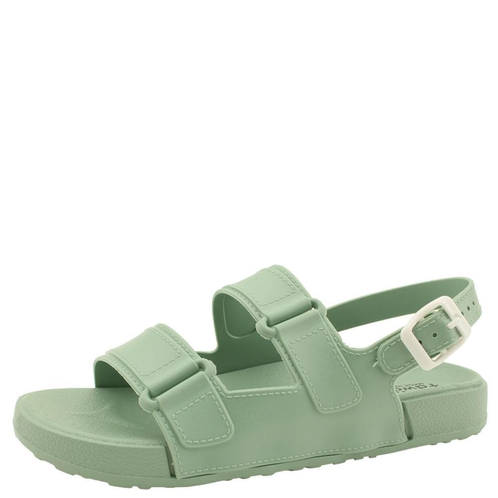 Fluffy Jelly Flat Sandals Mint 涼鞋