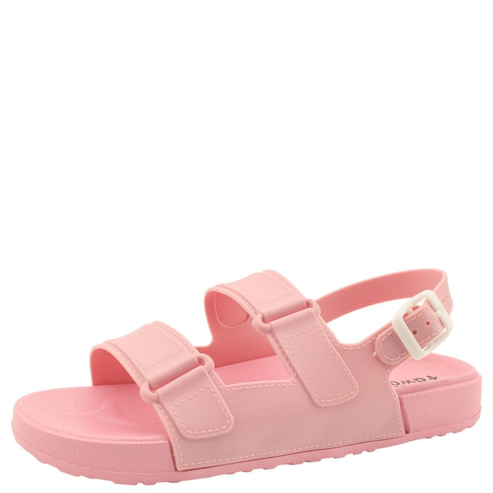 Fluffy Jelly Flat Sandals Pink 涼鞋