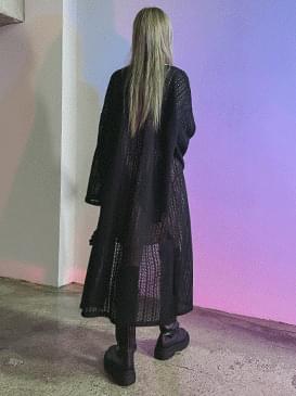 Long Knitwear Cardigan
