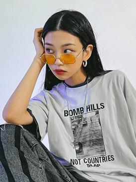 Yellow angel sunglasses