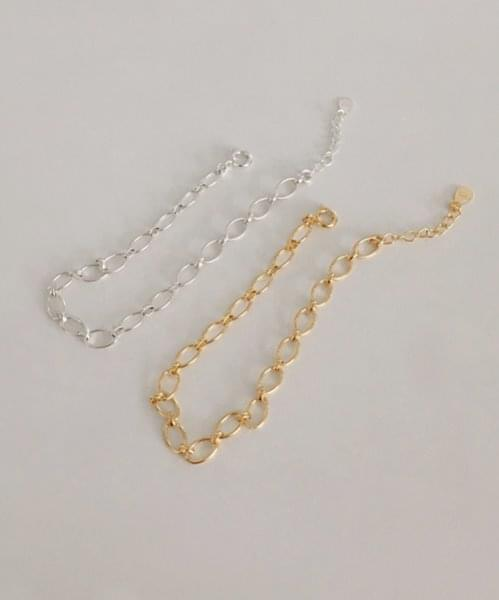 (silver925) egg shape bracelet