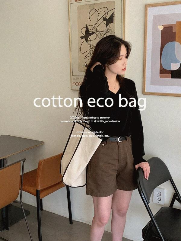 Color matching cotton eco bag