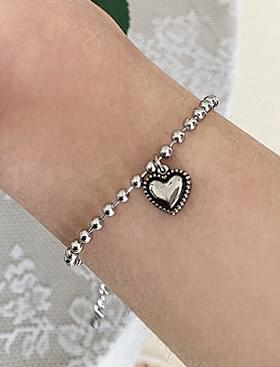 韓國空運 - Plump Heart Bracelet 手鐲