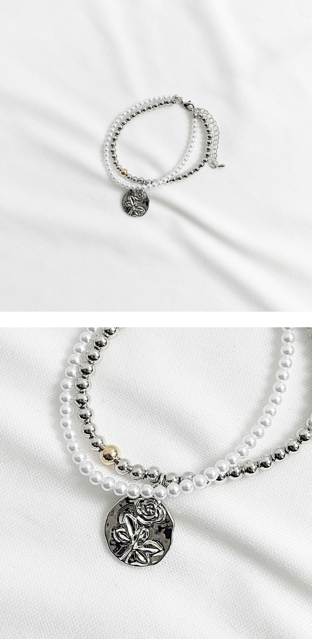 Drit Rose Layered Bracelet