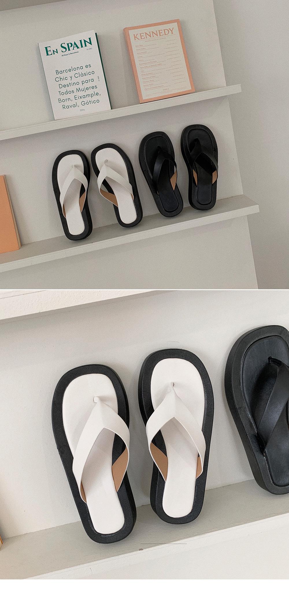 Wilby split heels slippers