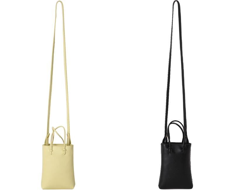 Mini handle square shoulder bag