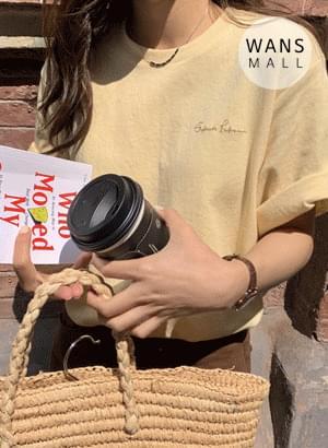 tt4685 탄스 레터링 티셔츠