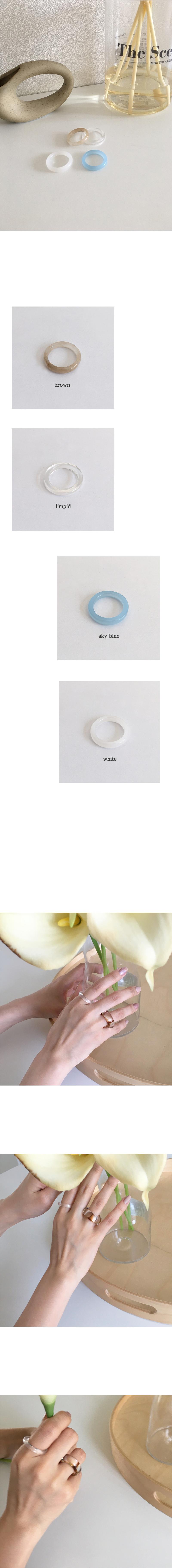 mood glass ring