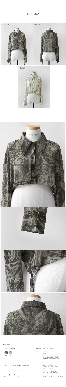Sobre print blouse