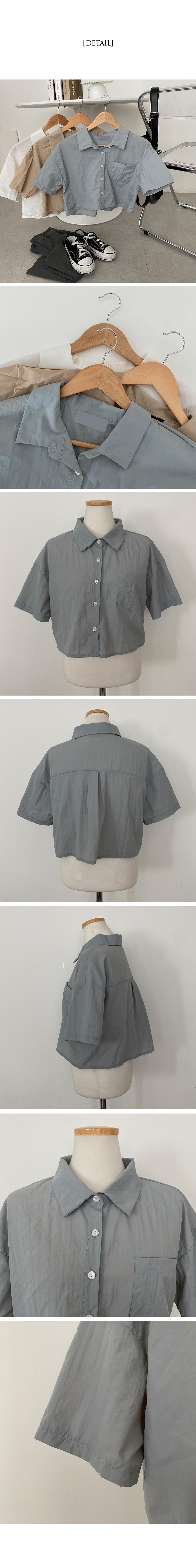 Beat Basrock Cooling Crop Shirt Shirt