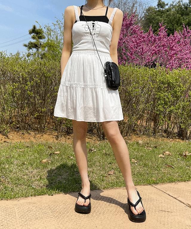 Hamel lace bustier Dress