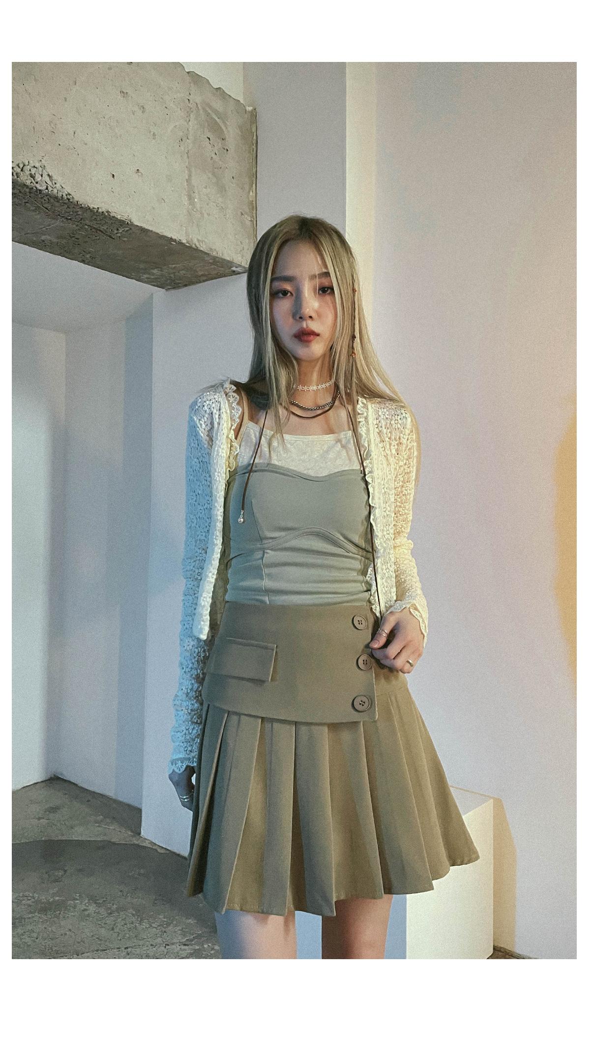 Lace roanne cropped cardigan