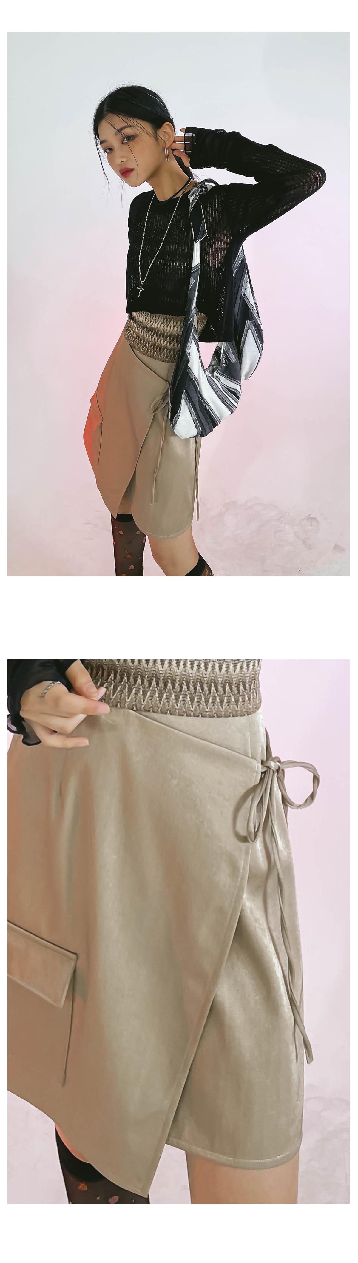 Sophie wrap skirt