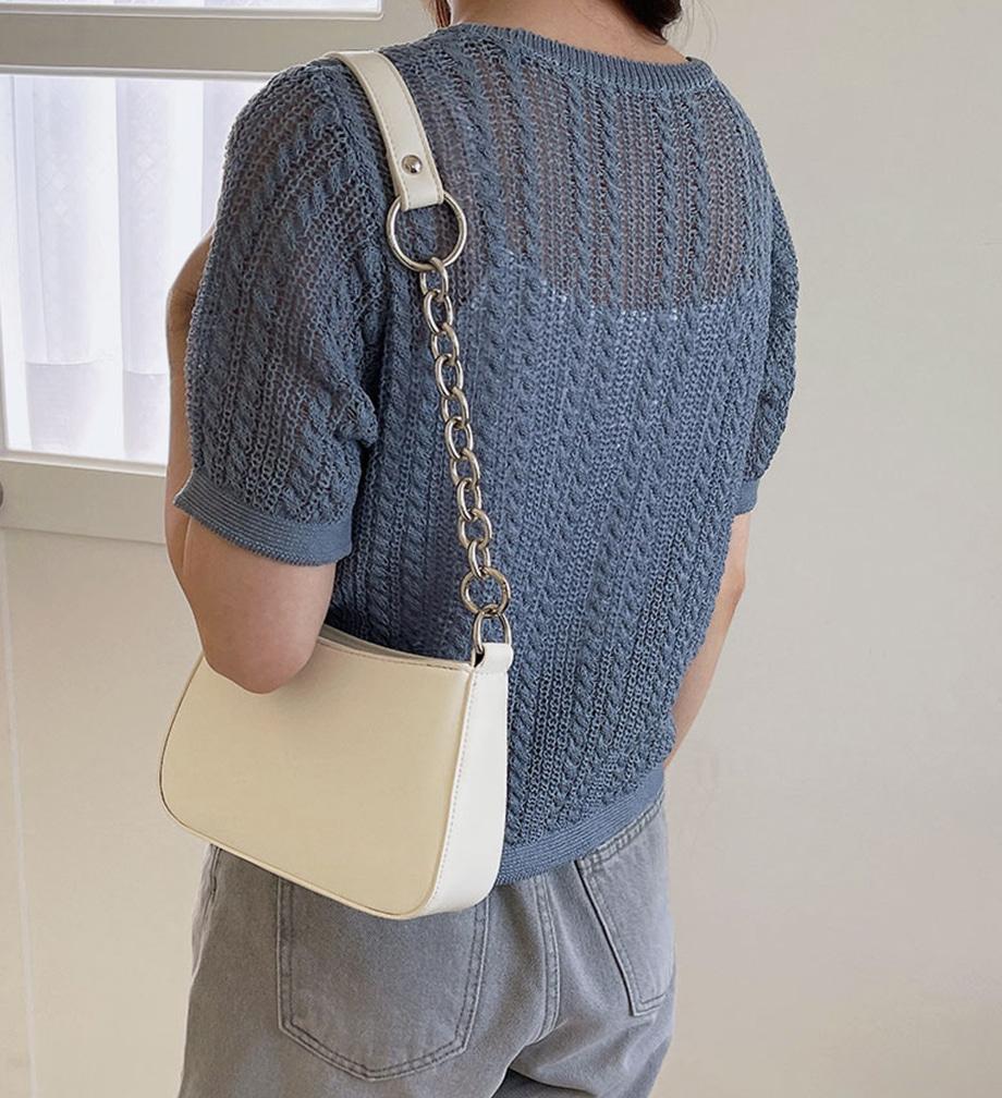 Meiring simple chain shoulder bag