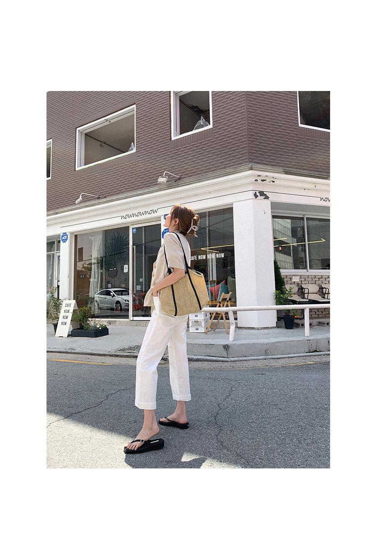 Premium line linen short sleeve jacket