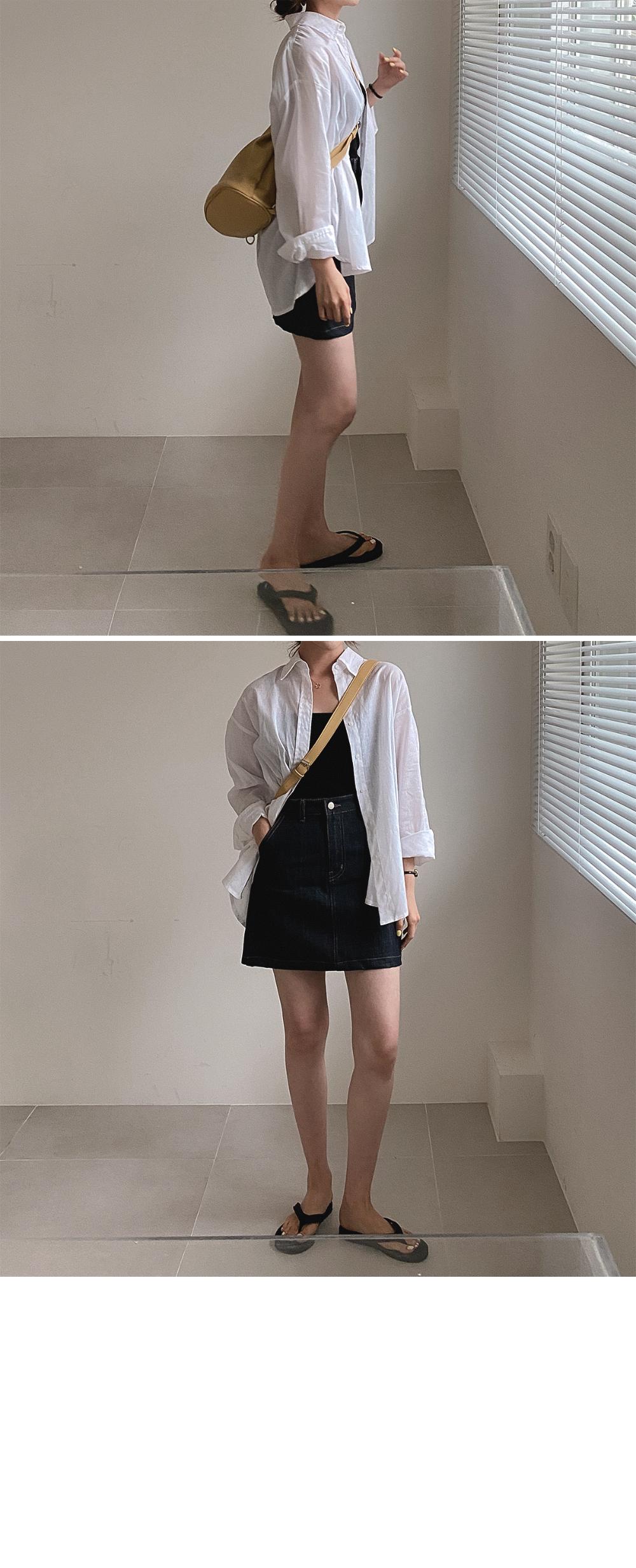 Light Linen Shirt-Linen55