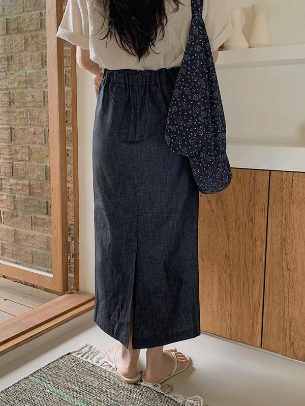 Breen Summer Denim Skirt
