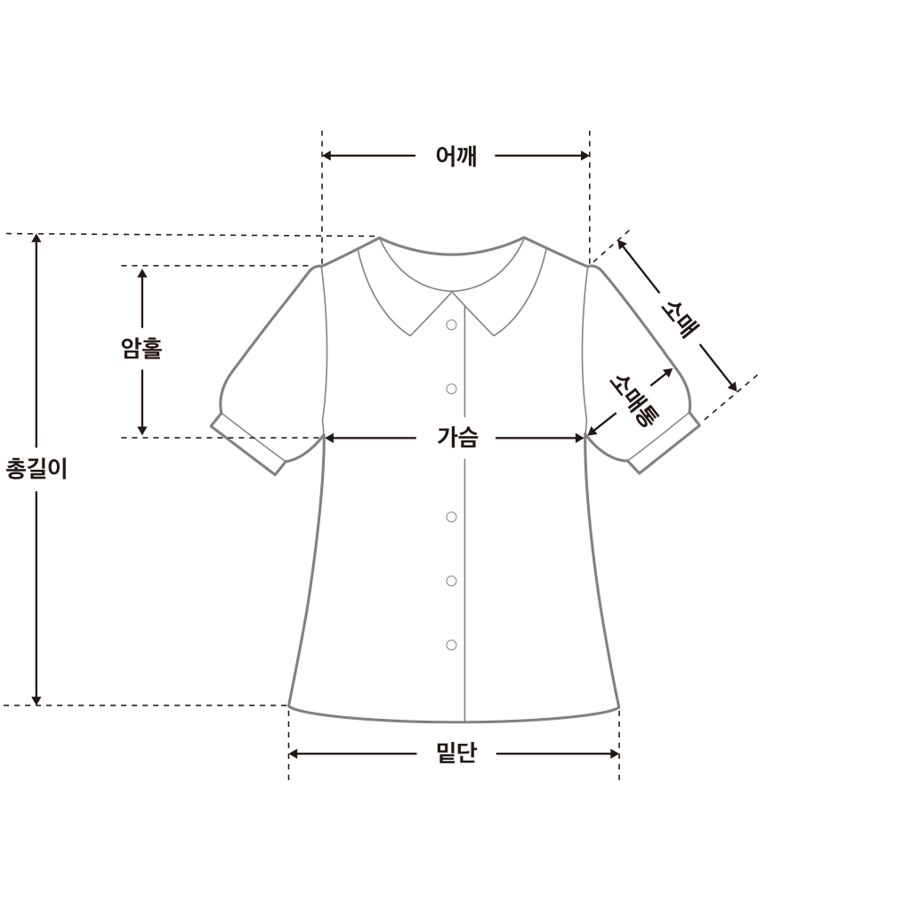 Lella two-way check blouse