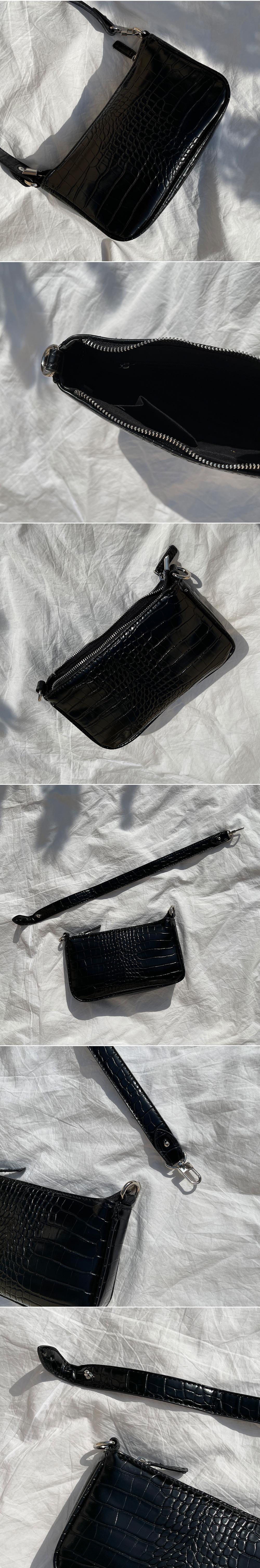Ray Python mini shoulder crossbody bag
