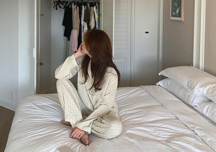 sale) Flower Yoru Pajama Set