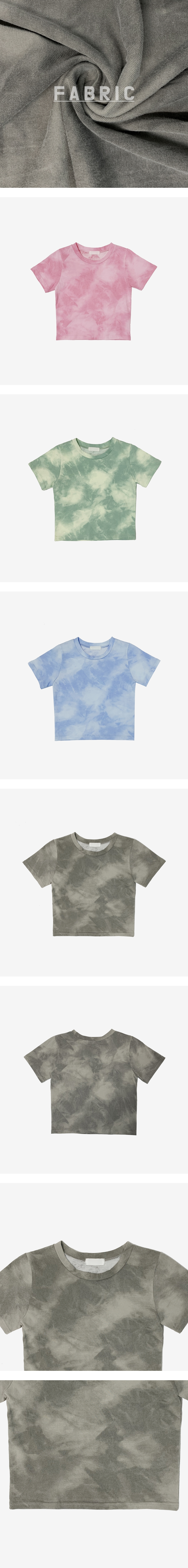 Gambit tie-dye cropped T-shirt