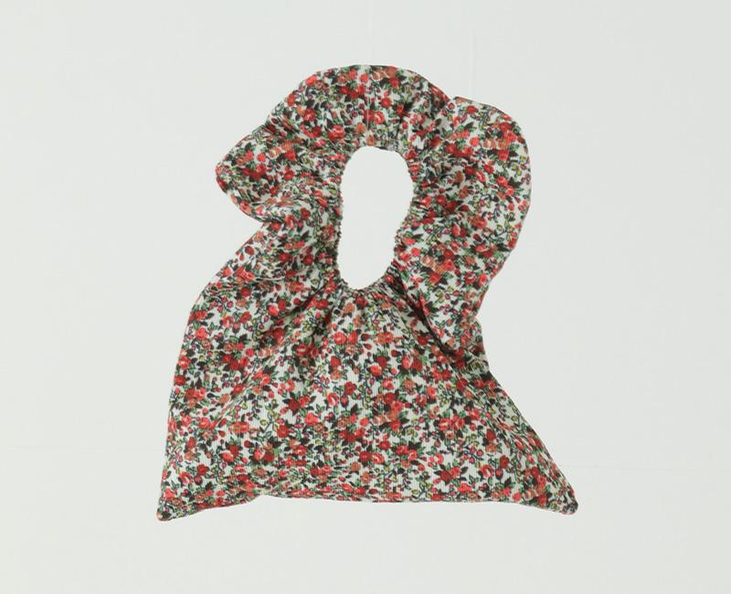Frill hand mini tote bag