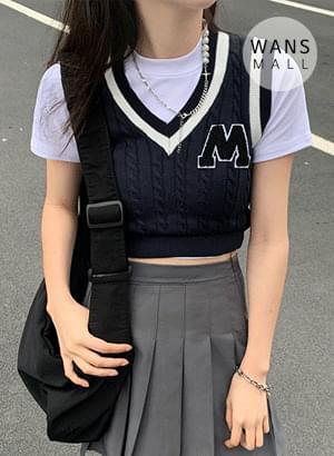 kn4710 Term V-Neck Knitwear Vest