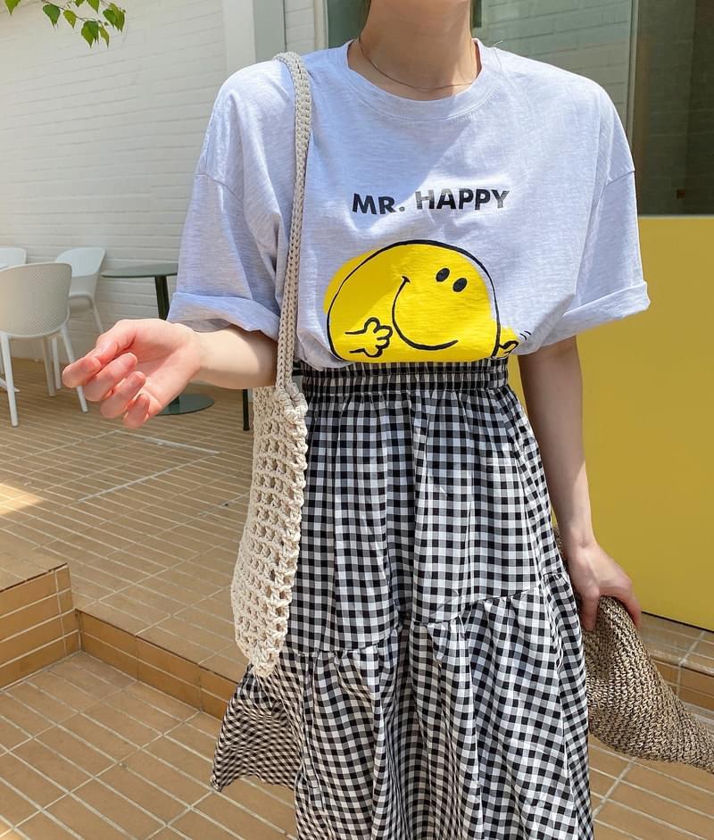 Boxy Smile T-shirt