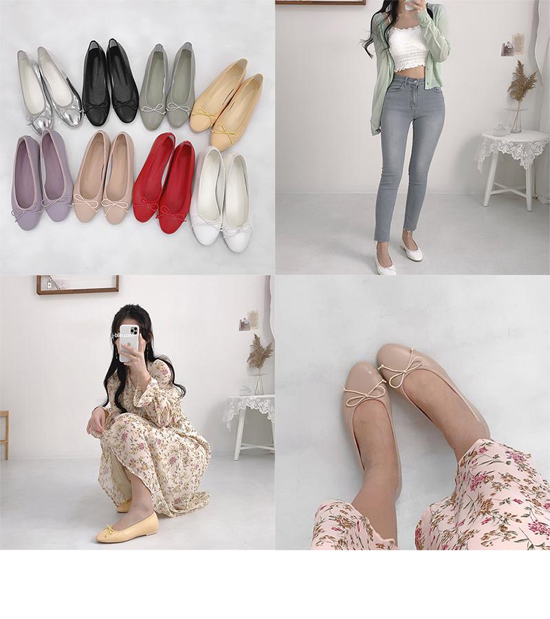 Mib ribbon flat shoes