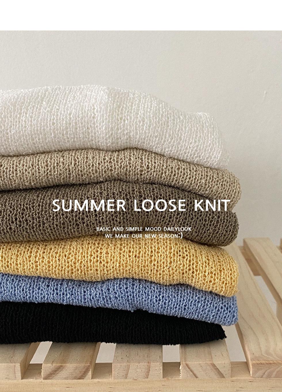 Lana Summer Rouge Knit
