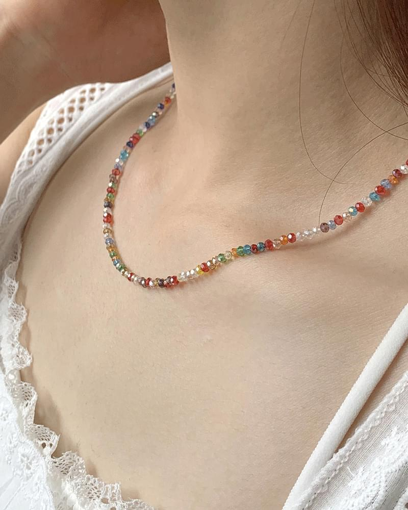 Canfor Rainbow Beads Necklace