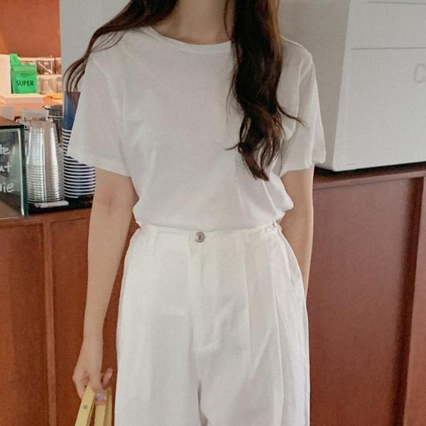Minon Cotton Short Sleeve Tee