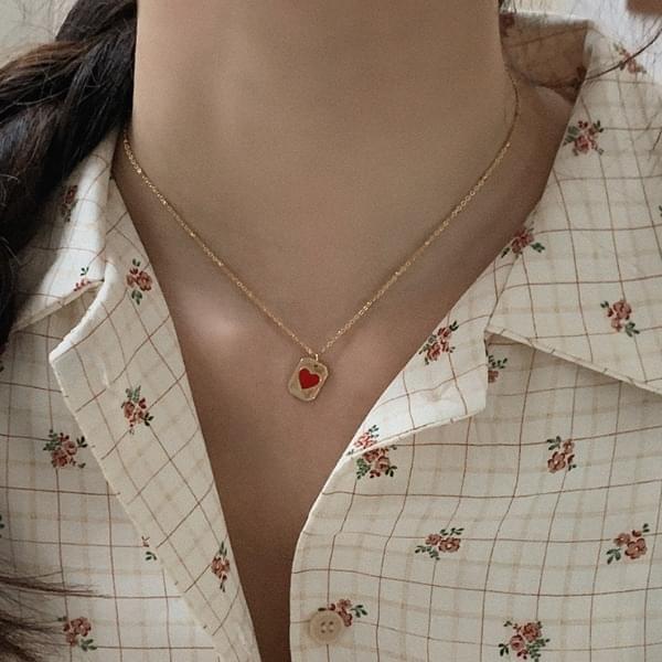Valon Heart Necklace
