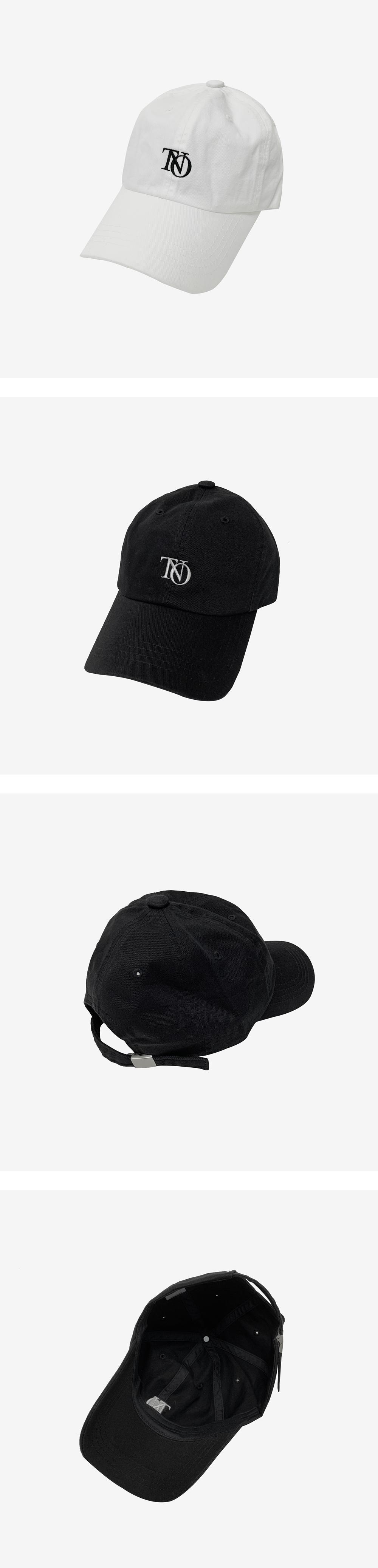 Wavy cotton ball cap
