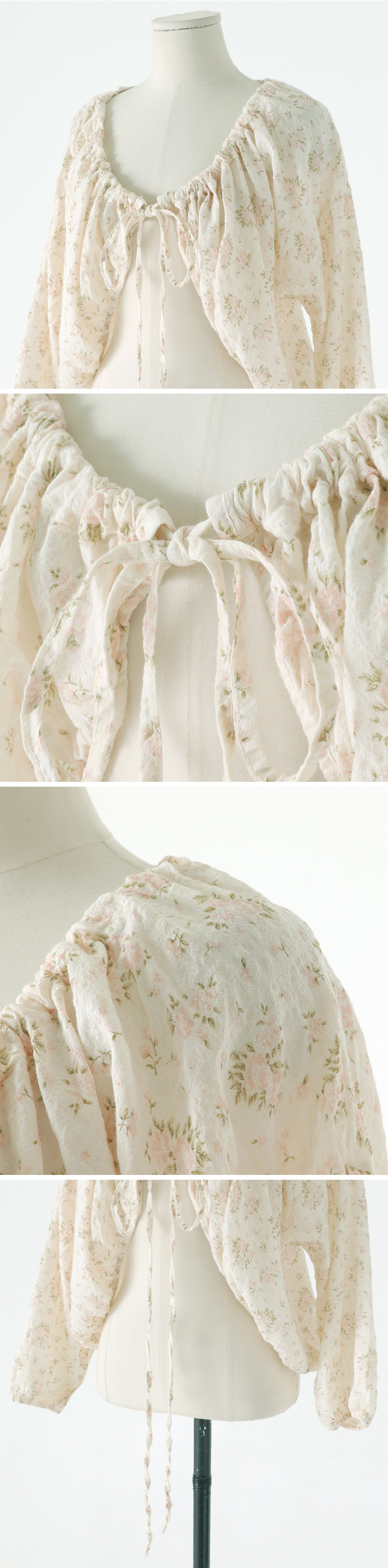 Nicole Flower Robe Cardigan