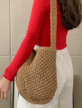 Natural Waflapia Shoulder Bag