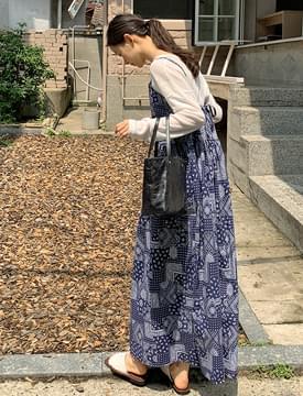 Paisley Bustier Long Dress