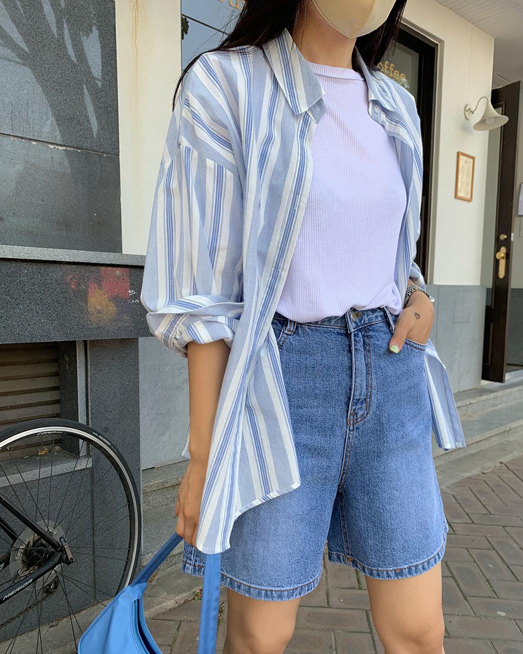 Life Summer Cotton Boxy Shirt